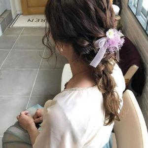 女生清新甜美的麻花辫减龄不显老发型