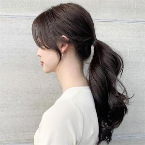 女生慵懒韩式马尾发型推荐